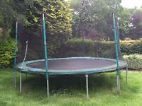 Large Trampoline (About 13' Diameter)