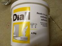 Ready to use wallpaper adhesive, 4.5kg,diall