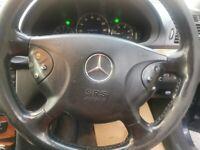 Mercedes-Benz, E CLASS, Saloon, 2002, Semi-Auto, 2685 (cc), 4 doors