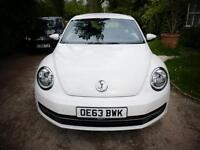 2013 plate VW Beetle 1.6 Bluemotion.
