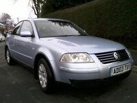 Volkswagen Passat 1.9 TDI PD SE Automatic 2003 Only 36000 Miles, Full MOT