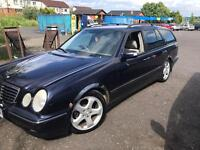 MERCEDES E200 2.0 PETROL LPG GAS 6 SPEED MANAUL