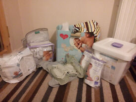 Re-useable Nappies - Bamboo Close Pop-In V2. From 7lbs up