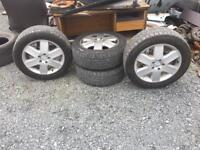 Mercedes vito wheels with decent tyres