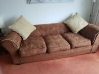 collins and hayes loose covers for an araminta three seater settee