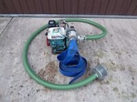 """Honda WD20X Deluxe 2"""" Water Pump with Petrol Engine with Discharge & Suction Hoses"""
