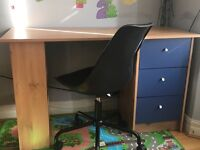 Desk /chair /chest of drawers/ Cube cubard
