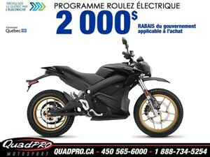 2018 Zero Motorcycles Zero DS R ZF 14.4 + FAST CHARGE