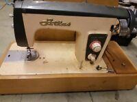 2 x vintage sewing machines