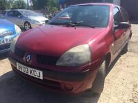 Renault Clio moted petrol 395