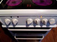 "HOTPOINT Ceramic Cooker Fan Ass Double Cav ""As New"""