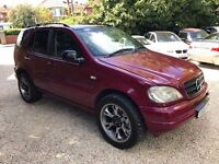 1999 MERCEDES ML 430 AUTO MODIFIED SUPERSPRINT EXHAUST SPARES OR REPAIRS