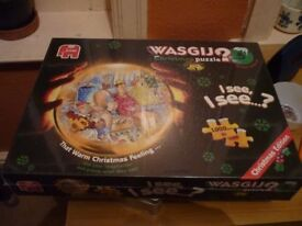 Jumbo Wasgij 1000 piece Jigsaw Puzzle - Christmas Puzzle 5 - New and Sealed