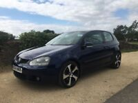 FABULOUS 2004 VW GOLF 2.0 GT TDI 3 DOOR. HIGH MILEAHE BUT FULL SERVICE HISTORY AND FAULTLESS DRIVE!
