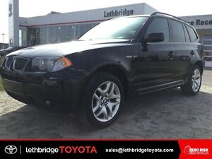 Value Point 2006 BMW X3 M Sport - HEATED LEATHER! BLUETOOTH!