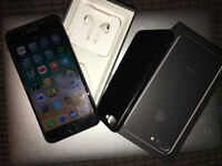 iPhone 7 Plus 128GB Jet Black No Scratches with All Accessories
