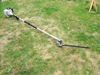 Garden care Petrol long reach hedge cutter