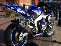 YZF R1 super sport 2002 motorcycle