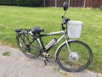 Powabyke x6 electric bike...excellent condition lots of extras including spare battery