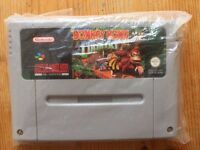 Super Nintendo Donkey Kong Country Cartridge