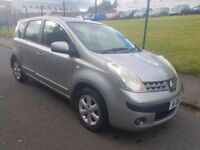 2006 Nissan Note 1.4 MOT March 3 month Warranty.