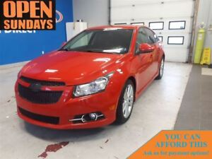 2013 Chevrolet Cruze Turbo RS! LEATHER! SUNROOF! FINANCE NOW!