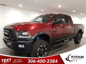 2017 Ram 2500 Power Wagon|4x4|6.4L HEMI|CAM|NAV|Sunroof