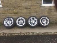 FYK 5x100 Wheels