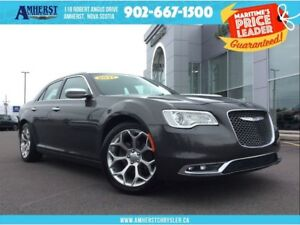 2017 Chrysler 300 C MOONROOF, LEATHER, NAV