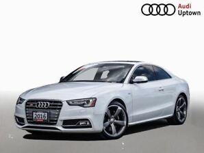 2016 Audi S5 3.0T Progressiv plus W/NAVIGATION