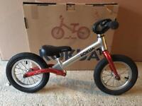 Kokua Likeabike Balance Bike Red Metallic Boxed