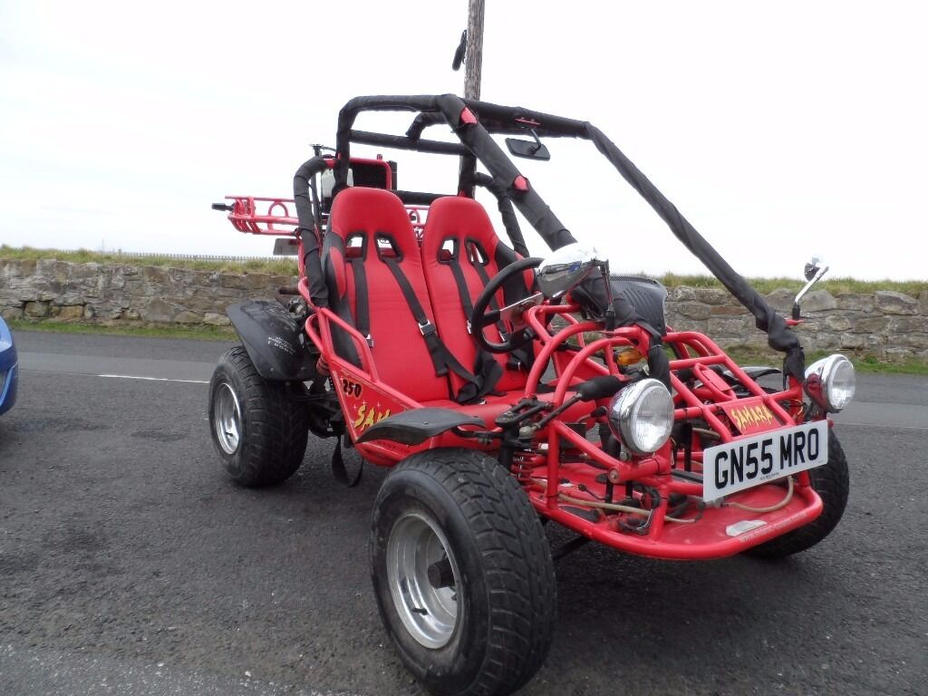 2005 kinroad sahara 250cc road legal buggy quadzilla pgo. Black Bedroom Furniture Sets. Home Design Ideas