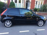Ford Fiesta, 1.25 Zetec, Black, Mileage 73000