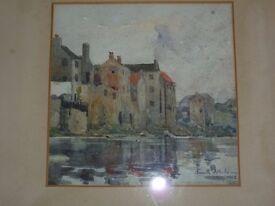 Original Watercolour painting by Kenneth Balmain 1912