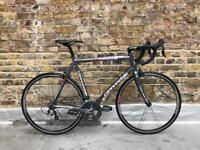 Cannondale road bike 58 cm ( new parts )