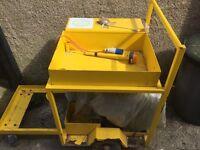 Generator on Trolley - Running chewing gum removing machine