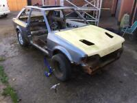 Ford escort rs turbo rolling shell with v5
