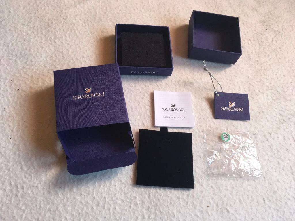 Swarovski box empty box £3