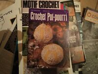 Vintage Crochet Pattern Book - Pot-Pourri - Bargain