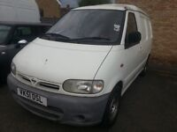 Nissan vanette 2.3 D. 1 Year MOT, New Clutch and propshaft