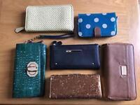 Wallets ,purses, clutch