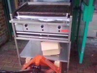 MEAT BBQ FASTFOOD GAS CHARCOAL COMMERCIAL GRILL MACHINE TAKEAWAY RESTAURANT MEAT CHICKEN CAFE SHOP