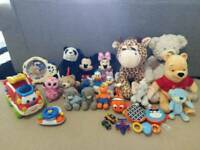 Bulk of Soft & Interactive Toys