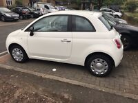 here i have for sale my wife car fiat 500 in mint condition been in family since new ,