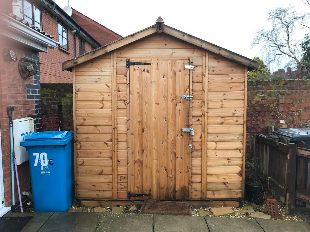 6 x 8 garden shed in hull east yorkshire gumtree - Garden Sheds Gumtree