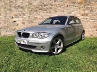 BMW 120i 5 DOOR HATCHBACK, LEATHER INTERIOR