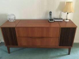 G Plan Dynatron Vintage/retro 1970s Radiogramme