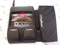 Digitech RP90 Electric Guitar Multi-Effects Pedal :- Distortion Chorus Delay Wah Reverb Drums etc