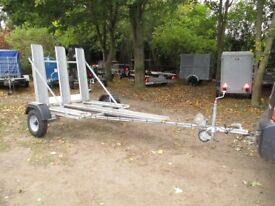 UNIQUE FULLY GALVANISED 3 WHEELER / TRIKE / TRICYCLE TRANSPORTER TRAILER..
