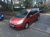 2008 CITREON C4 GRAND PICASSO VTR+ HDI AUTO DIESEL 7 SEATER MOT 7/18 SERVICE HISTORY 2 OWNERS